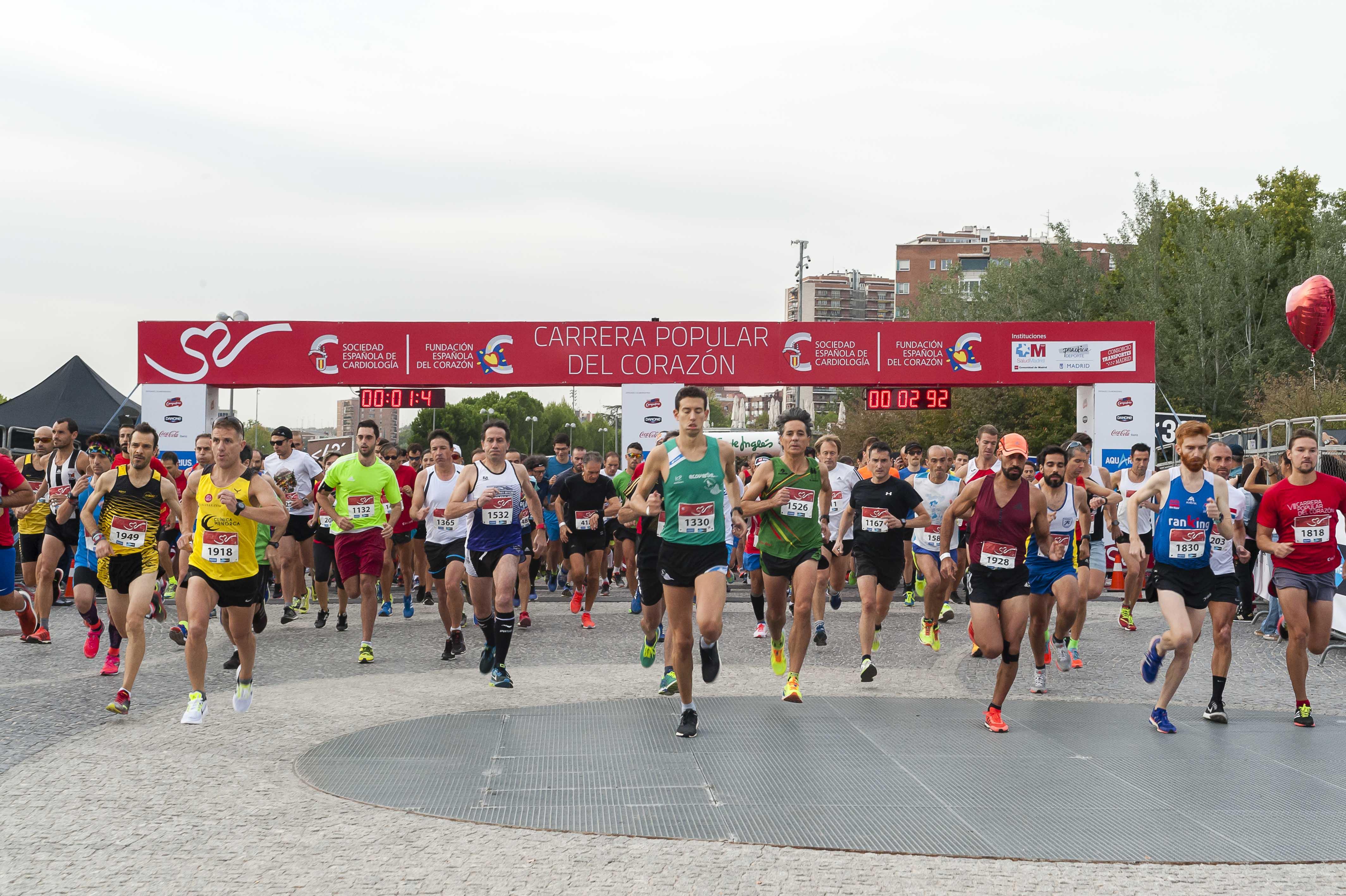 aquí defecto Oír de  La FEC alerta de los peligros de alcanzar la frecuencia cardiaca máxima en  la práctica deportiva - Fundación Española del Corazón