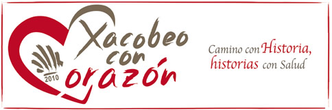 Logo del Xacobeo con Corazón