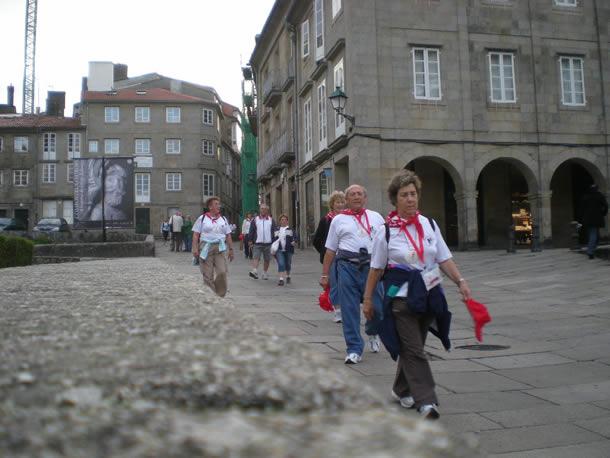 Llegada a la Catedral
